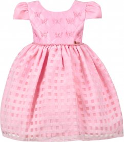 Imagem - Vestido Infantil Cattai com Borboletas 3D