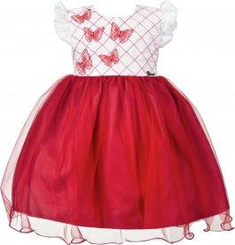 Imagem - Vestido Infantil Cattai com Bordado de Borboletas