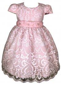 Imagem - Vestido Infantil Cattai com Flores e Borboletas no Cinto