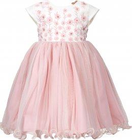 Imagem - Vestido Infantil Cattai com Mini Flores 3D