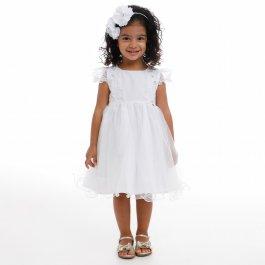 Imagem - Vestido Infantil Cattai com Recorte Bordado