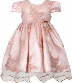 Imagem - Vestido Infantil Cattai de Renda Bordada