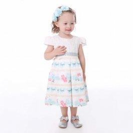 Imagem - Vestido Infantil Cattai Estampado com Laços