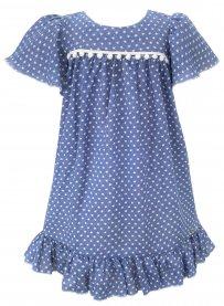 Imagem - Vestido Infantil Cattai Estrelinhas