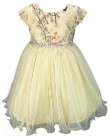 Imagem - Vestido Infantil Cattai Peito com Renda Flores 3D