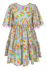 Imagem - Vestido Infantil Cattai Pop It