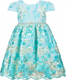 Imagem - Vestido Infantil Cattai Renda Luxo