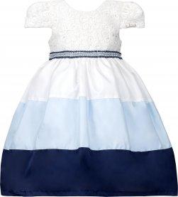 Imagem - Vestido Infantil Cattai Saia Bicolor