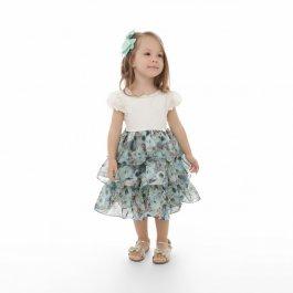 Imagem - Vestido Infantil Plinc Ploc Babados Floral
