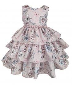 Imagem - Vestido Infantil Plinc Ploc de Babados