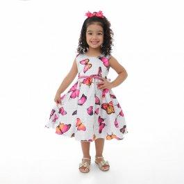 Imagem - Vestido Infantil Plinc Ploc Floral