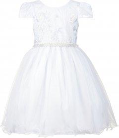 Imagem - Vestido Juvenil Cattai Branco com Renda