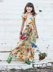 Imagem - Vestido Juvenil Cattai Longo Floral