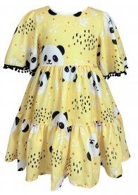 Imagem - Vestido Juvenil Cattai Panda