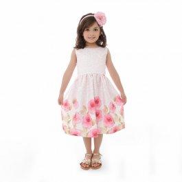 Imagem - Vestido Juvenil Plinc Ploc Barrado Floral