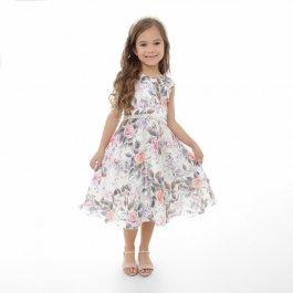 Imagem - Vestido Juvenil Plinc Ploc Flores e Borboletas
