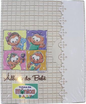 Álbum do Bebê Turma da Mônica Baby 120 Fotos 5663