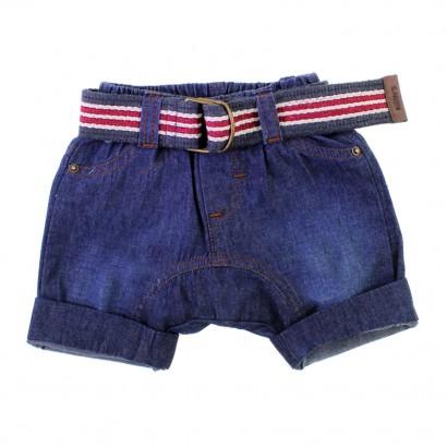 Bermuda de Bebê Saruel em Jeans