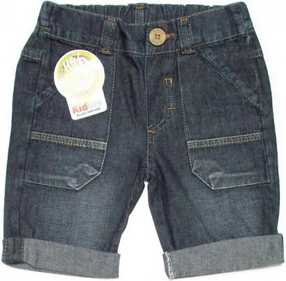 Bermuda Jeans com Barra Virada 4866