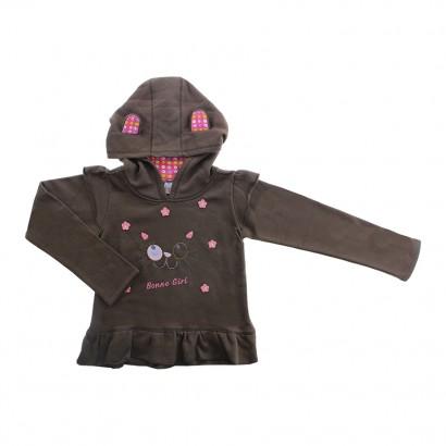 Blusa de Moleton Gatinha Bonne Girl - Cod. 7771