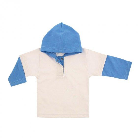 Blusa de Moletinho com Capuz