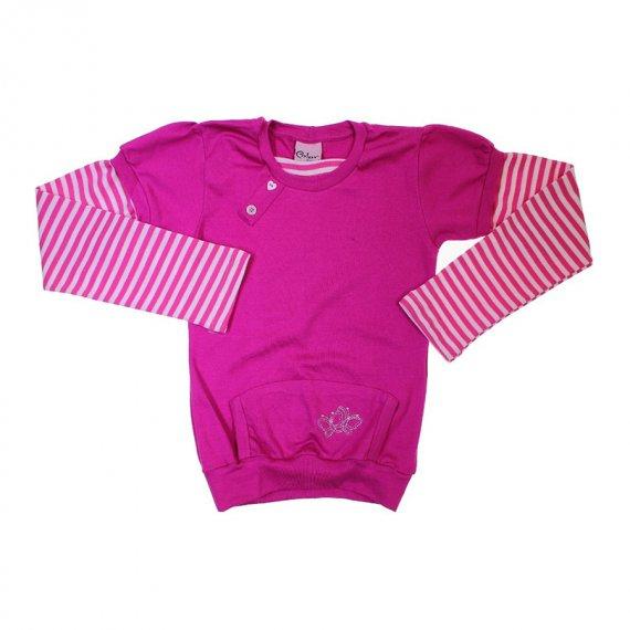 Blusa de Moletom Infantil para Menina Color Girl