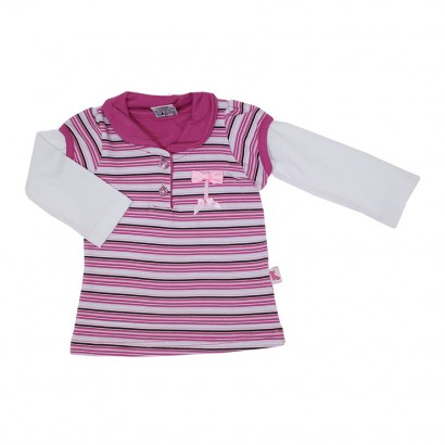 Blusa Polo Listrada - Cód. 7861