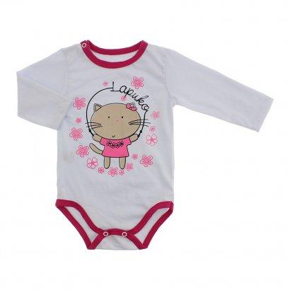 Body Bebê para Menina Lapuko