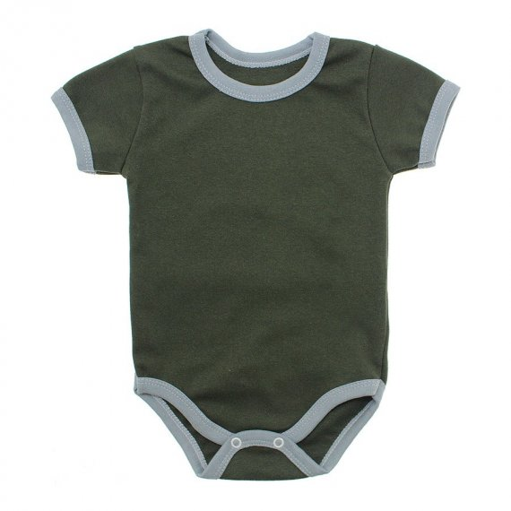 Body Bebê Manga Curta Lapuko