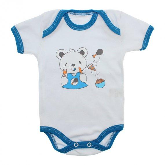 Body Bebê Menino Estampado