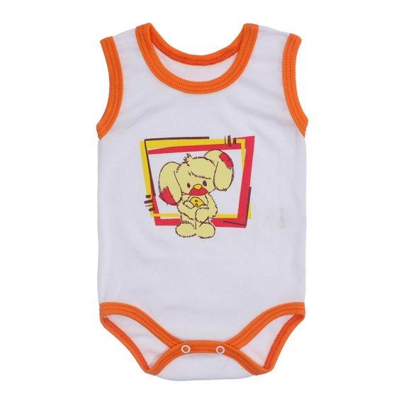 Body Bebê Regata Estampado Lapuko