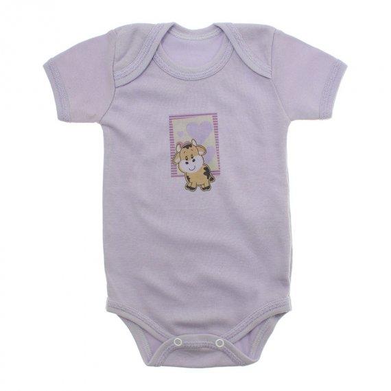 Body de Bebê Manga Curta