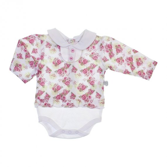 Body para Bebê Floral Zig Mundi