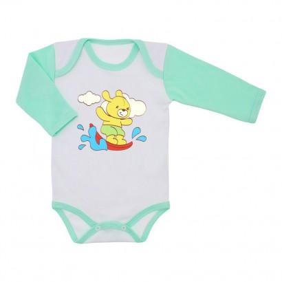 Body de Bebê Manga Longa Menino