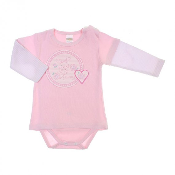 Body de Bebe Camiseta Sobreposta Best Club