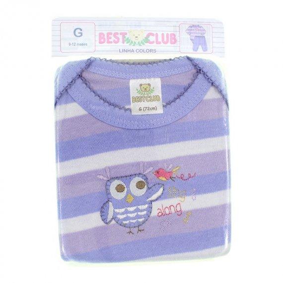 Body e Calça de Bebê Best Club