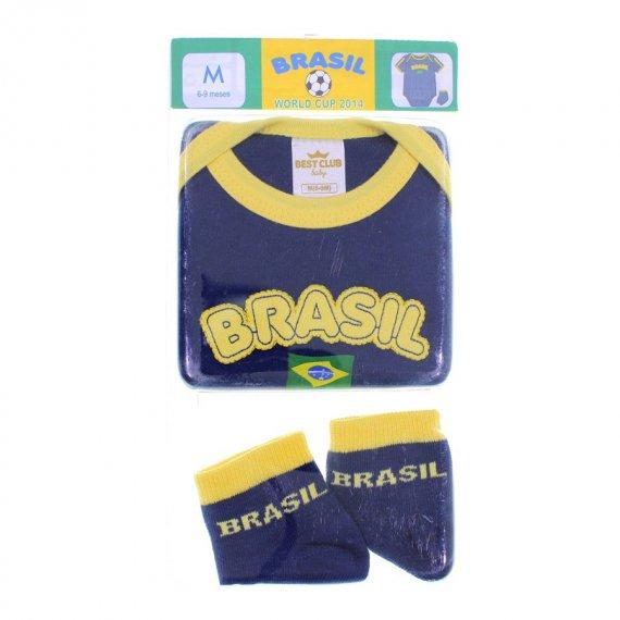 Body de Bebe Best Club Seleção Brasileira