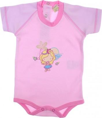 Body de Bebê Manga Curta Smoby Baby