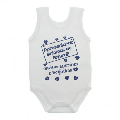 Body de Bebê Regata com Frases