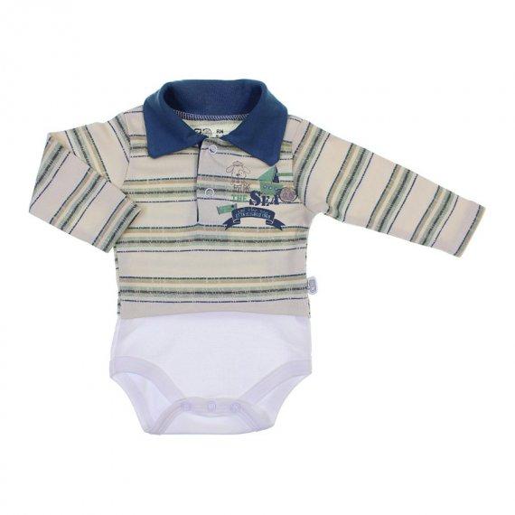 Body de Bebê Polo Zig Mundi