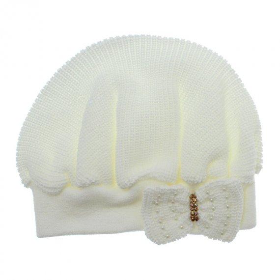 Boina para Bebê em tricot