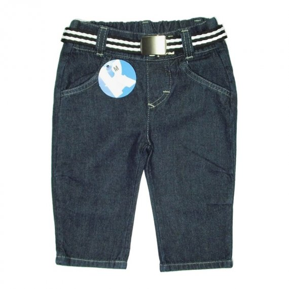 Calça Jeans Infantil Menino c/Cinto - Cod. 5329