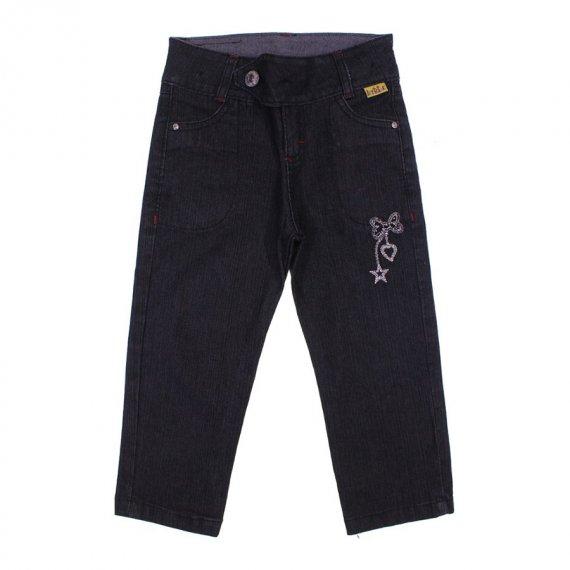Calça Jeans Infantil Heart