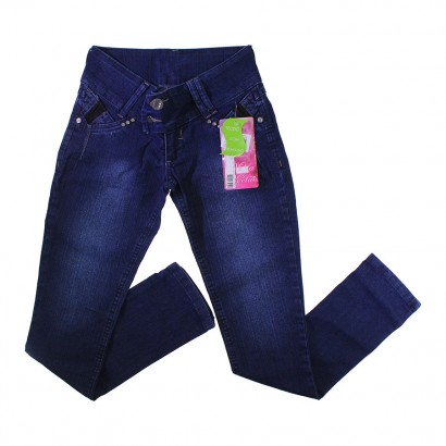 Calça Jeans Juvenil com Elastano Larissa