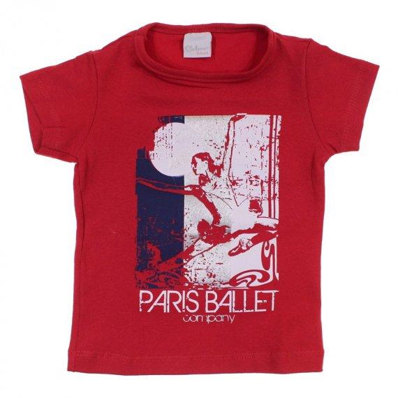 Camiseta Infantil para Menina Ballet