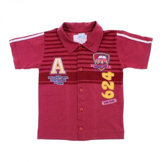 Camiseta Polo de Menino - Gijo Kids - cod.6206