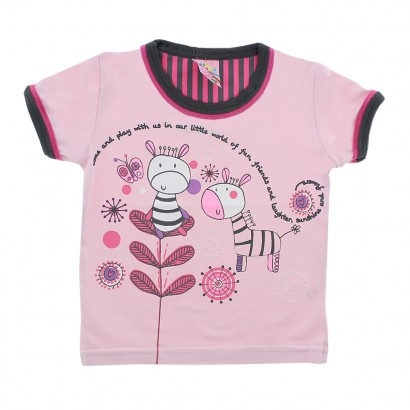 Camiseta Estampada Friends Giraffe 7821