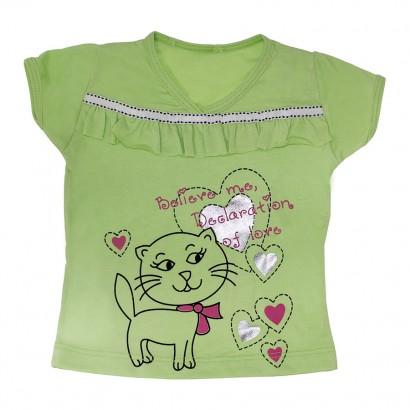 Camiseta Gatinha Love - Cód. 7839