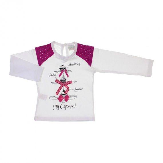 Camiseta de Manga Comprida - Infantil - cod.6777