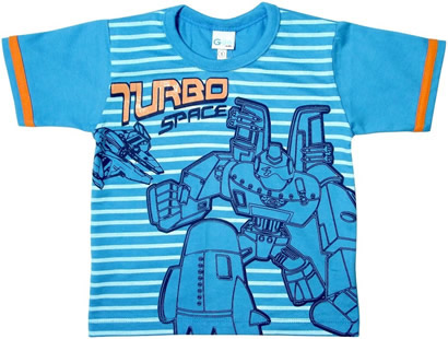 Camiseta Infantil Turbo Space